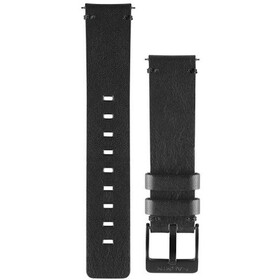 Garmin Bracelets en cuir à attache rapide 20mm, black